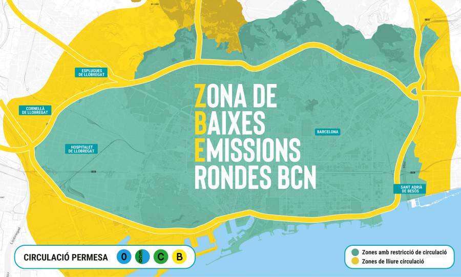 Zona bajas emisiones barcelona