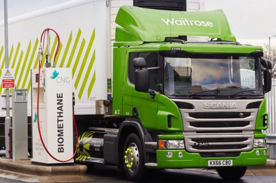Biometano camion
